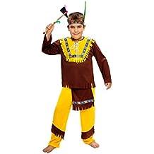 Boys Toys - Disfraz de indio para niño