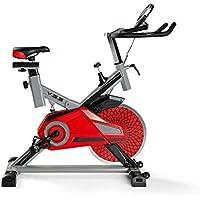 Fitness | Bicicleta de Spinning Profesional Abso Totalmente Equipada | Sistema de amortiguación VSS | Soporta hasta 140 kgs | Manillar de triathlón con ...