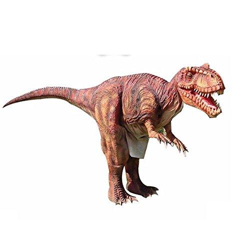 Dinosaurier Kostüm World Jurassic - Lebensgroßer T-Rex Erwachsene aufblasbare Dinosaurier Kostüm Passt sichtbar Beine Jurassic World Realistische Dino