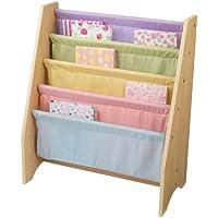 KidKraft 14225 Libreria in legno e tessuto per bambini - Colori pastello e naturale - Arredamento - Confronta prezzi