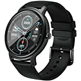 Mibro Air Smart Watch bluetooth 5.0 IP68 WaterProof HD touch Screen Metal Slim Body Android IOS Black
