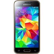 "Samsung Galaxy S5 Mini - Smartphone libre Android (pantalla 4.5"", cámara 8 Mp, 16 GB, Quad-Core 1.4 GHz, 1.5 GB RAM), dorado"