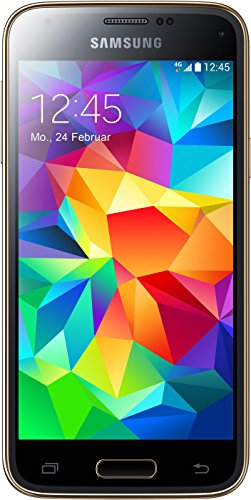 galaxy s5 mini gold Samsung Galaxy S5 mini Smartphone (4,5 Zoll (11,4 cm) Touch-Display, 16 GB Speicher, Android 4.4) gold