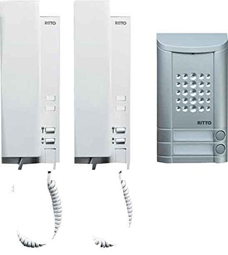 Ritto by Schneider Wired intercom systemAluminium