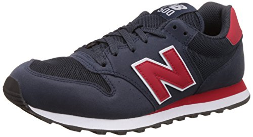 New Balance - GM500RN - Couleur: Navy,Red - Pointure: 40.5