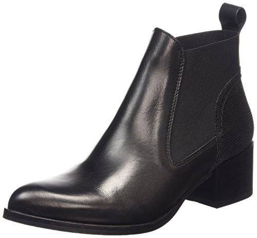 Sofie Schnoor - Leather Boot, Stivaletti Donna Nero (Nero (nero))