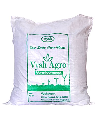 Vysh Agro Organic Vermicompost Manure Plant Food (10 Kg) for Kitchen and Terrace Garden