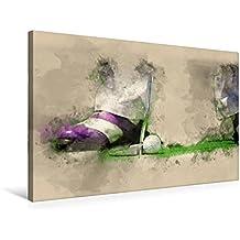 """Premium Textil-Leinwand 75 cm x 50 cm quer, Golf ist wunderbar   Wandbild, Bild auf Keilrahmen, Fertigbild auf echter Leinwand, Leinwanddruck: Ein ... liebe Golf """" von Peter Roder (CALVENDO Sport)"""