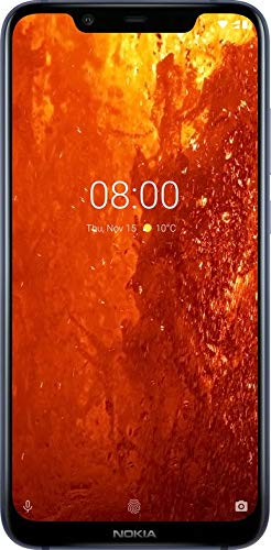 Nokia 8.1 64GB Smartphone, Blue Best Price and Cheapest