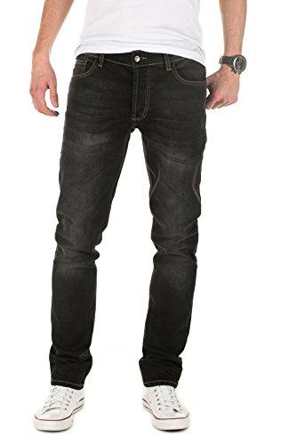 Yazubi Herren Jeans, Modell Edvin, Slim Fit Grau (GRAVEL GREY 303)