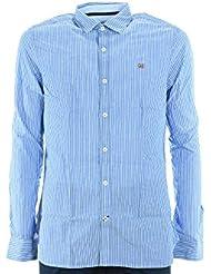 NAPAPIJRI El hombre camisa de manga larga N0YG6PS16 GULFPORT