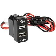 12 V/24 V Doble Puerto USB cargador toma de corriente salpicadero OEM Man TGL