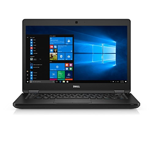 Dell Latitude 5480 14-Inch Laptop - (Black) (Intel Core i5-7200U 2.5 GHz, 8 GB RAM, 128 GB SSD, Windows 10 Pro)