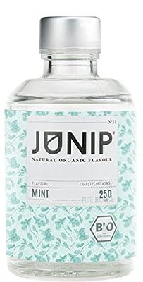Infuseur bouteille de thé, eau et cocktail JUNIP | 100% BIO sans additifs artificiels ni sucres ajoutés | Faible en calories | menthe