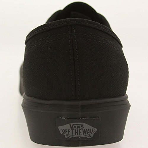 Vans Authentic Lite Plus, Baskets Basses Mixte Adulte Noir (Canvas/Black/Black)