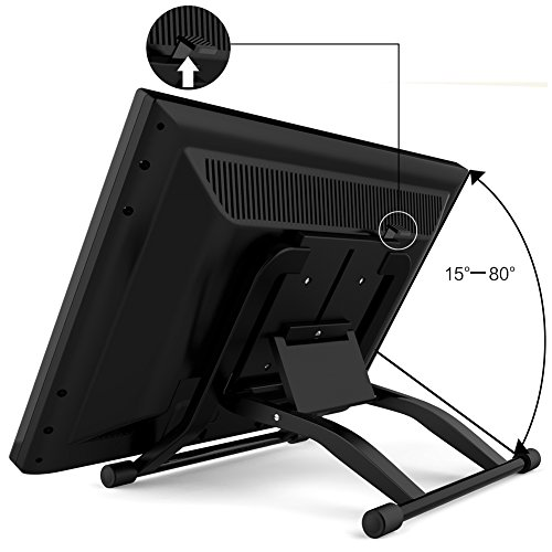 Ugee 1910B Designing Interactive Digital Pen display LCD Screen Art Graphic  Writing Drawing Monitor with 2048 Levels Pressure Sensitivity (19 Inch)