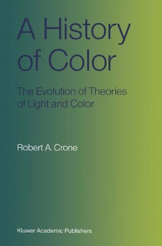 A History of Color: The Evolution of Theories of Light and Color (English Edition)