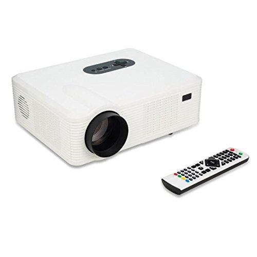 Vidéoprojecteur HD 1080p 3000 Lumens Homecinéma HDMI VGA 1280x800P LED