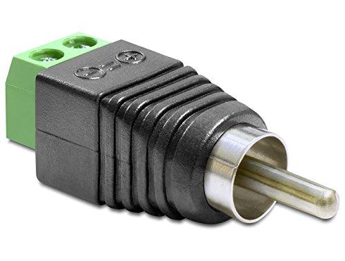 nalblock 2Pin -> Cinch Stecker (10er Pack) ()