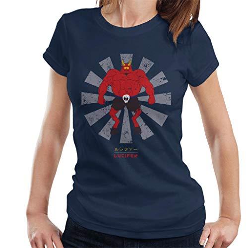 Lucifer Retro Japanese South Park Women's T-Shirt (South Park Satan)