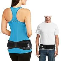 Doact Sacroiliac SI Belt, Ajustable Cinturón Sacroilíaca para Alivio del Dolor de Articulación SI, Paréntesis de SI para Espalda Baja y Dolor de Ciática Adecuado para Mujeres y Hombres (S/M) (L/XL)