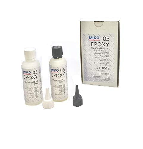 2 Komponenten Epoxy Kleber Transparent 200g Packung 2x 100 ml