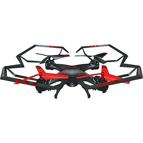 SOMESUN X5UW 4CH 6 axes FPV RC Caméra Quadcopter Wifi Vidéo en temps réel 2 Modes de contrôle Modèle d'avion Hélicoptère (Rouge)