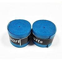 2x Grip Antideslizandte para Pala de Padel Raqueta Tenis de Mesa Badminton Color Azul 2197azul