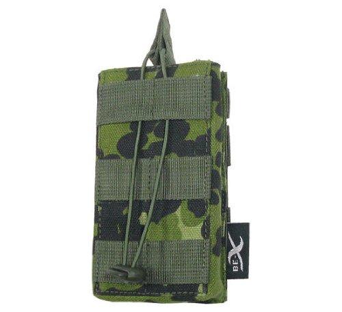 BE-X Offene Magazintasche für CQB, für MOLLE für ein M4/M16 Magazin - dänisch tarn