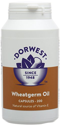 Dorwest Herbs Wheatgerm Oil Capsules for Dogs and Cats 1