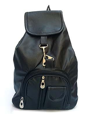 Vintage Stylish Girls School bag College Bag (In Four Colors)(bag r 124) (Black)