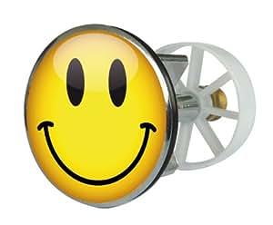 Excenterstopfen Metall 38 mm Design Emoticon