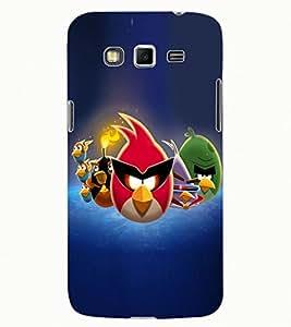 ColourCraft Amazing Birds Design Back Case Cover for SAMSUNG GALAXY GRAND 2 G7102 / G7106