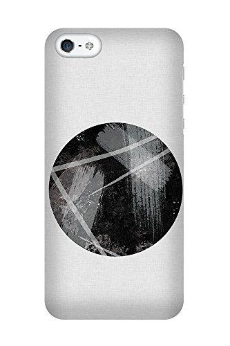 iPhone 4/4S Coque photo - Stripe Cercle