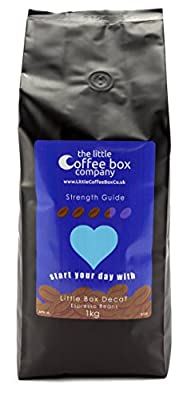 Little Decaf Espresso Coffee Beans 1kg Decaffeinated - 100% Premium Arabica from The Little Coffee Box Co