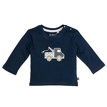 SALT AND PEPPER Baby-Jungen Nb Longsleeve Ready Uni Langarmshirt