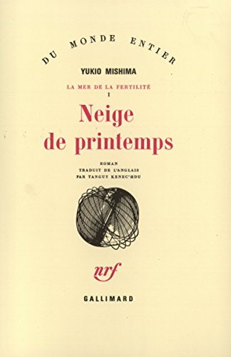 Neige de printemps par Yukio Mishima, Tanguy Kenec'hdu