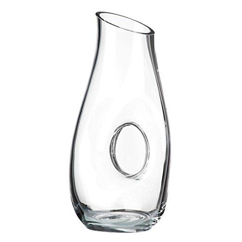 Dekanter, Weindekanter, FENG SHUI, transparent, Kristallglas, 30 cm, moderner Style (ART GLASS powered by CRISTALICA)
