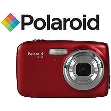 Camara digital ultracompacta Polaroid IE126 de 18 megapixeles (roja)