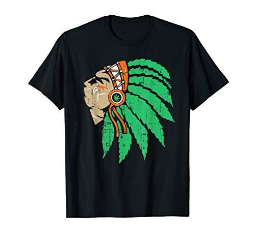 Kostüm Opa Erwachsene Für Unisex - Karneval & Fasching - Cooles Indianer Kostüm   T-Shirt