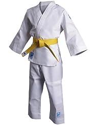 adidas - Tenue Kimono de judo enfant Evolution (avec ceinture blanche) J250 - ADIJ250E