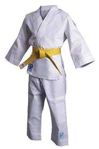 adidas - Tenue Kimono de judo Evolution (sans ceinture blanche) T100/110- ADIJ250E