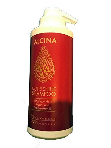 Shine Shampoo (Alcina Nutri Shine Shampoo 500 ml Haarpflege für seidig glänzendes Haar)