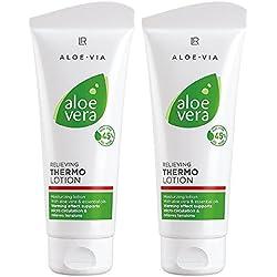 LR ALOE VIA Aloe Vera Thermo Lotion Relaxant (2x 100 ml)