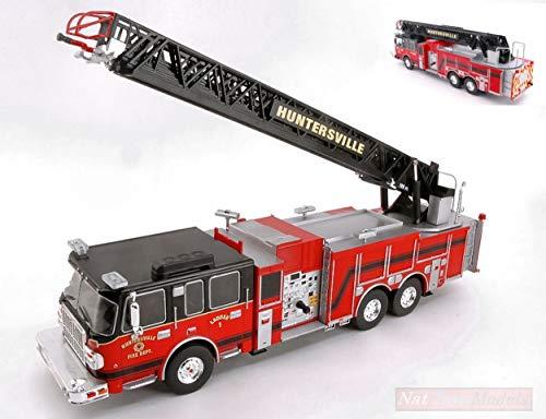 Ixo Model TRF012 SMEAL 105 Aerial Ladder US FIRE Truck Huntersville 2014 1:43 kompatibel mit (Ladder Fire Truck Spielzeug)