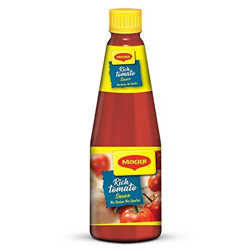 Nestle Maggi Tomato Sauce, No Onion No Garlic, 1 kg Bottle