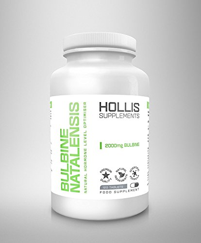 Bulbine Natalensis High Strenght 2000mg Testosterone Booster 120 Tablets By Hollis 100% Money Back Guarantee Made in the UK Testosterone Support Increase Sex Drive