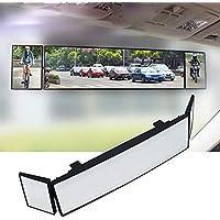 Fansport Car Rear Mirror Retrovisor Gran Angular Universal Auto Retrovisor Retrovisor Interior del Coche Espejo