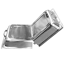 Thunder Group Stainless Steel Hinged Dome Cover