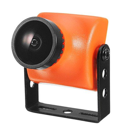 VIDOO Orange 1200Tvl Cmos 2.5Mm/2.8Mm 130/120 Gradi 16:9 FPV Mini Fotocamera-Pal/Ntsc 5V-12V für RC Drone 2.5mm Ntsc Cmos 2,5